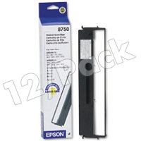 Epson 8750 Black Fabric Dot Matrix Printer Ribbons