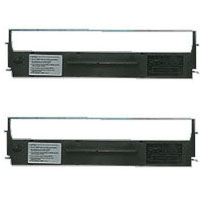 Epson 8750 Compatible Dot Matrix Printer Ribbons (2/Pack)