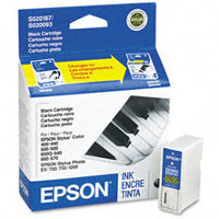 Epson S187093 Black Discount Ink Cartridge ( Replaces S020093 & S020187 )