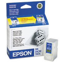 Epson S189108 Black Discount Ink Cartridge ( Replaces S020108 & S020189 )