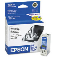 Epson T026201 Black Discount Ink Cartridge