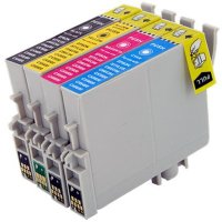 Epson T044120 / T044220 / T044320 / T044420 Remanufactured Discount Ink Cartridge MultiPack