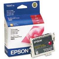 Epson T054720 Red Discount Ink Cartridge