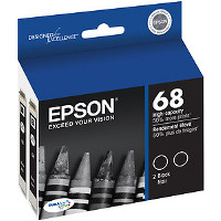 Epson T068120-D2 Discount Ink Cartridges (2/Pack)