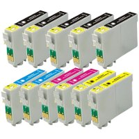 Epson T069120 / T069220 / T069320 / T069420 Remanufactured Discount Ink Cartridge Value Pack