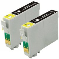 Epson T125120-D2 Remanufactured Discount Ink Cartridge Dual Pack