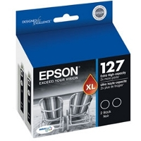 Epson T127120-D2 Discount Ink Cartridge Dual Pack