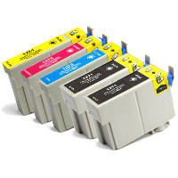 Epson T127120 / T127220 / T127320 / T127420 ( Epson T127 ) Remanufactured Discount Ink Cartridge Value Pack