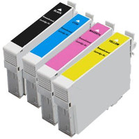 Epson T200XL120 / T200XL220 / T200XL320 / T200XL420 Remanufactured Discount Ink Cartridge Value Pack