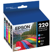 Epson T220120-BCS Discount Ink Cartridge Multi Pack