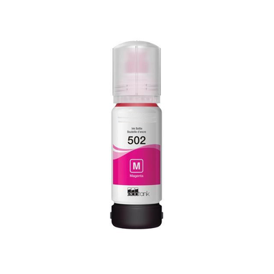 Remanufactured Epson T502 Magenta ( T502 ) Magenta Discount Ink Bottle