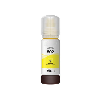 Remanufactured Epson T502 Yellow ( T502 ) Yellow Discount Ink Bottle