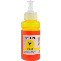 Remanufactured Epson T664 Yellow ( T664420 ) Yellow Discount Ink Bottle