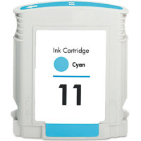 Hewlett Packard HP C4836AN ( HP 11 Cyan ) Remanufactured Discount Ink Cartridge