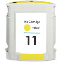Hewlett Packard HP C4838AN ( HP 11 Yellow ) Remanufactured Discount Ink Cartridge