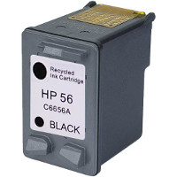 Hewlett Packard HP C6656AN / HP C6656A ( HP 56 ) Professionally Remanufactured Black Discount Ink Cartridge