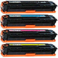 Compatible HP 128A Black / 128A Cyan / 128A Yellow / 128A Magenta ( CE320A ) Multicolor Laser Cartridge
