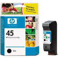 Hewlett Packard Regular No.45 ( HP 51645A ) Black Discount Ink Cartridges