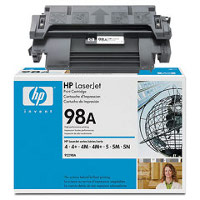 Hewlett Packard HP 92298A ( HP 98A ) Black Microfine Laser Cartridge