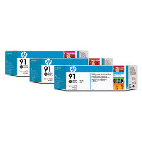 Hewlett Packard HP C9480A ( HP 91 ) Discount Ink Cartridge MultiPack