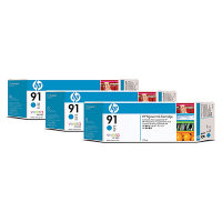 Hewlett Packard HP C9483A ( HP 91 ) Discount Ink Cartridge MultiPack