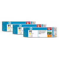 Hewlett Packard HP C9485A ( HP 91 ) Discount Ink Cartridge MultiPack