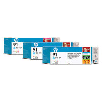 Hewlett Packard HP C9486A ( HP 91 ) Discount Ink Cartridge MultiPack