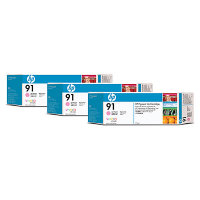 Hewlett Packard HP C9487A ( HP 91 ) Discount Ink Cartridge MultiPack
