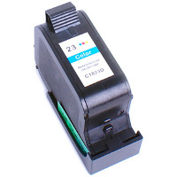 Hewlett Packard HP C1823A ( HP 23 ) Remanufactured Discount Ink Cartridge