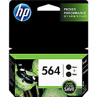 Hewlett Packard HP C2P51FN ( HP 564 Black Twin Pack ) Discount Ink Cartridges