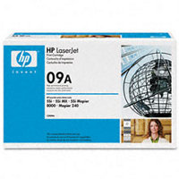 Hewlett Packard HP C3909A ( HP 09A ) Black Microfine Laser Cartridge