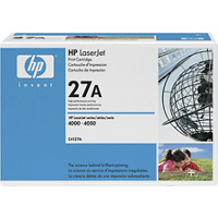 Hewlett Packard HP C4127A ( HP 27A ) Black Laser Cartridge