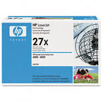 Hewlett Packard HP C4127X ( HP 27X ) High Capacity Black Laser Cartridge