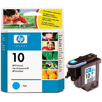 Hewlett Packard HP C4801A ( HP 10 Cyan ) Discount Ink Cartridge Printhead