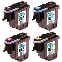 Hewlett Packard Printhead Set (one of each individual Color Discount Ink Cartridges Printheads)