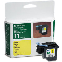 Hewlett Packard HP C4813A ( HP 11 Yellow ) Printhead for Yellow Discount Ink Cartridges