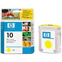 Hewlett Packard HP C4842A ( HP 10 Yellow ) Discount Ink Cartridge