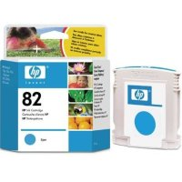 Hewlett Packard HP C4911A ( HP 82 cyan ) Discount Ink Cartridge