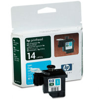 Hewlett Packard HP C4921A ( HP 14 Cyan ) Printhead for Cyan Discount Ink Cartridges