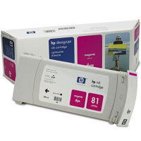 Hewlett Packard HP C4932A ( HP 81 ) Magenta Dye Discount Ink Cartridge