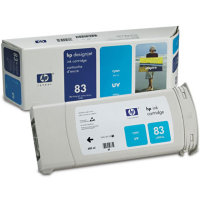 Hewlett Packard HP C4941A ( HP 83 ) Cyan UV Discount Ink Cartridge