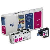 Hewlett Packard HP C4952A ( HP 81 ) Magenta Printhead Discount Ink Cartridge with Printhead cleaner