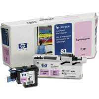 Hewlett Packard HP C4955A ( HP 81 ) Light Magenta Printhead Discount Ink Cartridge with Printhead cleaner