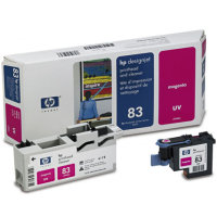 Hewlett Packard HP C4962A ( HP 83 ) Magenta Printhead Discount Ink Cartridge with Printhead cleaner