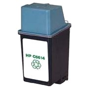 Hewlett Packard HP C6614A ( HP 20 ) Professionally Remanufactured Black Discount Ink Cartridges