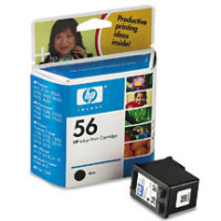 Hewlett Packard HP C6656AN / HP C6656A ( HP 56 ) Black Discount Ink Cartridge