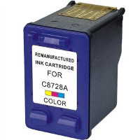 Hewlett Packard HP C8728AN / HP C8728A ( HP 28 ) Professionally Remanufactured Tri-Color Discount Ink Cartridge