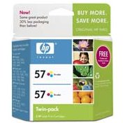 Hewlett Packard HP C9320FN ( HP 57 Twinpack ) Discount Ink Cartridge Twin Pack