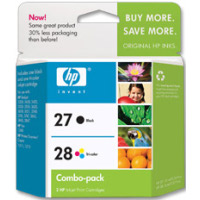 Hewlett Packard HP C9323FN ( HP 27/28 ) Discount Ink Cartridge Combo Pack
