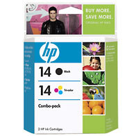 Hewlett Packard HP C9337FN ( HP 14 ) Discount Ink Cartridge Combo Pack
